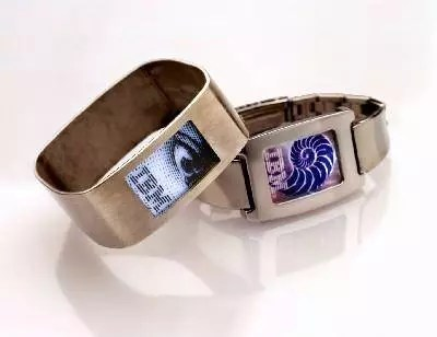 IBM has developed a prototype bracelet display
