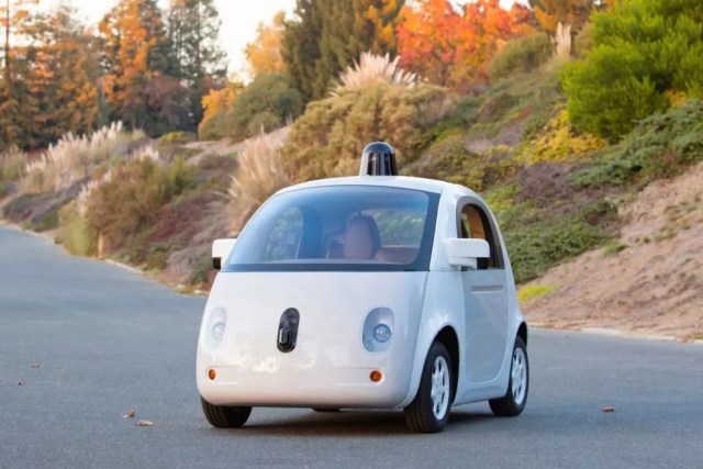 Googles Driver less car