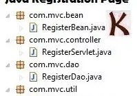 Java Registration Form using Servlet MySQL MVC