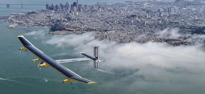 Solar impulse top view