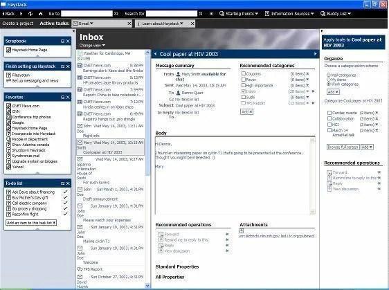 Haystack Semantic Web Browser