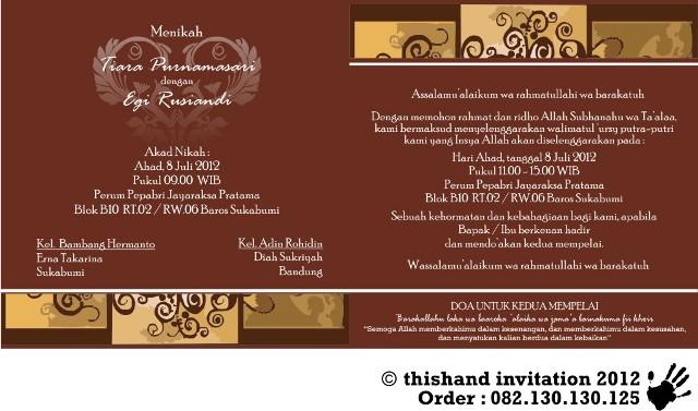 Undangan Pernikahan Kode Htp 002 Kreasiundanganmurah
