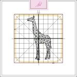 Freebie Friday ITH Giraffe Coaster