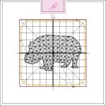 Freebie Friday ITH Hippo Coaster