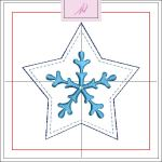 Freebie Friday ITH Star Snowflake 1