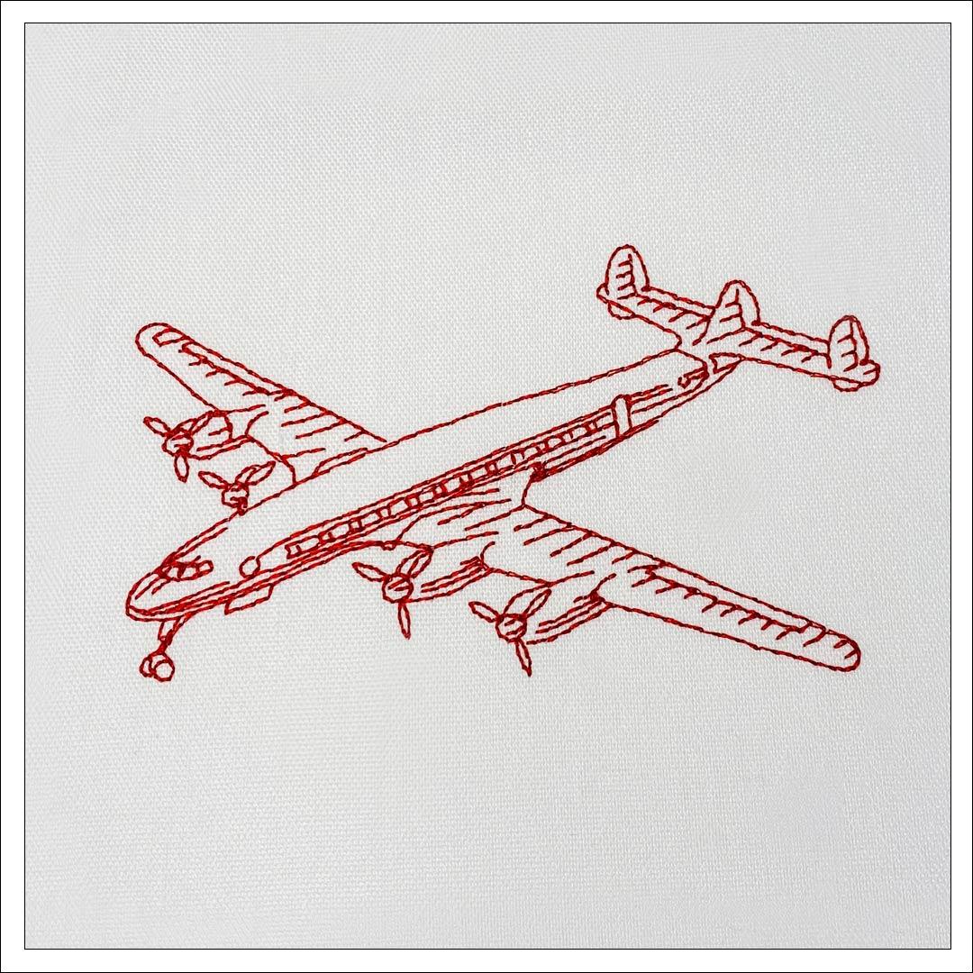 Redwork Embroidery design from https://kreatief.shop