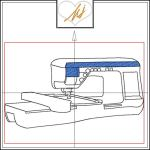 Red Twist collection – Embroidery Machine