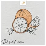 Red Twist collection – Orange