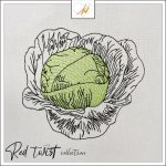 Red Twist collection – Cabbage