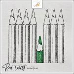 Red Twist collection – Pencils