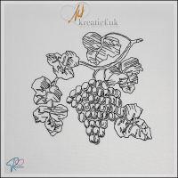Redwork Grapes