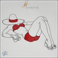 Red Twist collection – Girl in Bikini