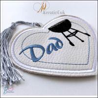 ilove bbQ – Dad Bookmark