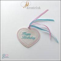 ITH Happy Birthday Bookmark