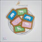 Safari Biscuit feltie Set