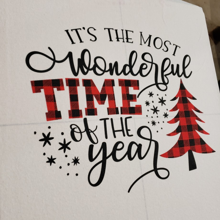 """""""Its the most wonderful time of year"""" t-shirt"""
