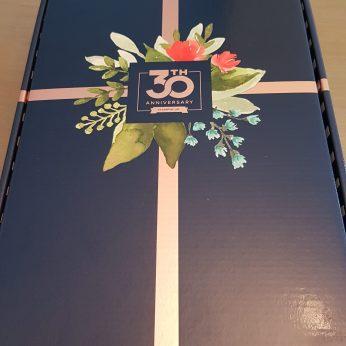 Jeder Teilnehmer erhielt so eine schöne Geschenkbox mit tollem Inhalt.