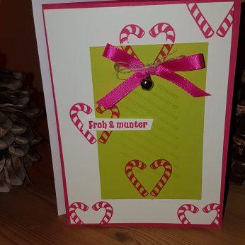 Weihnachtskarten für meine treuen Kunden