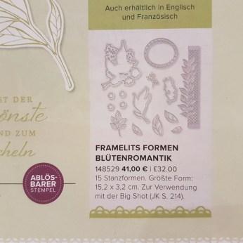 Thinlits Formen Blütenromantik, 148529, 41 €