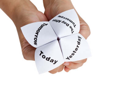TODAY IS YESTERDAY'S TOMORROW by Francis Omode