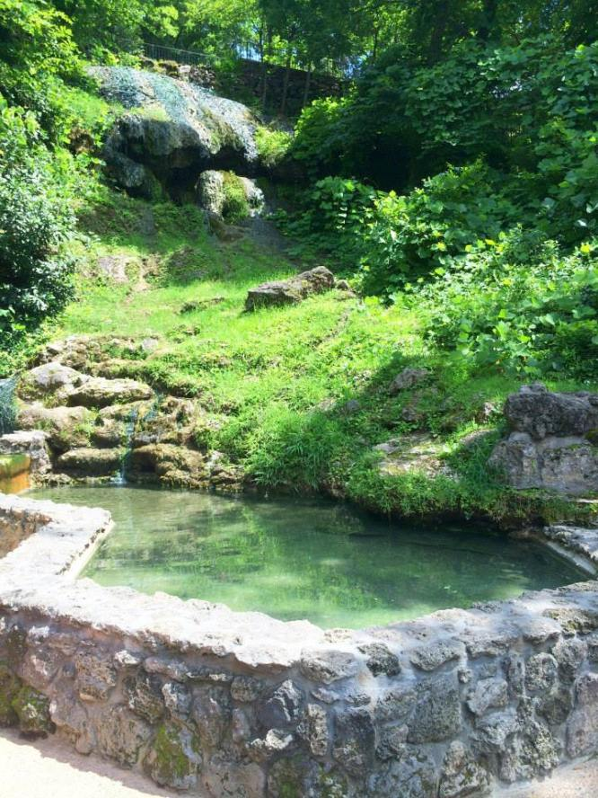 Natural Hot Water Spring