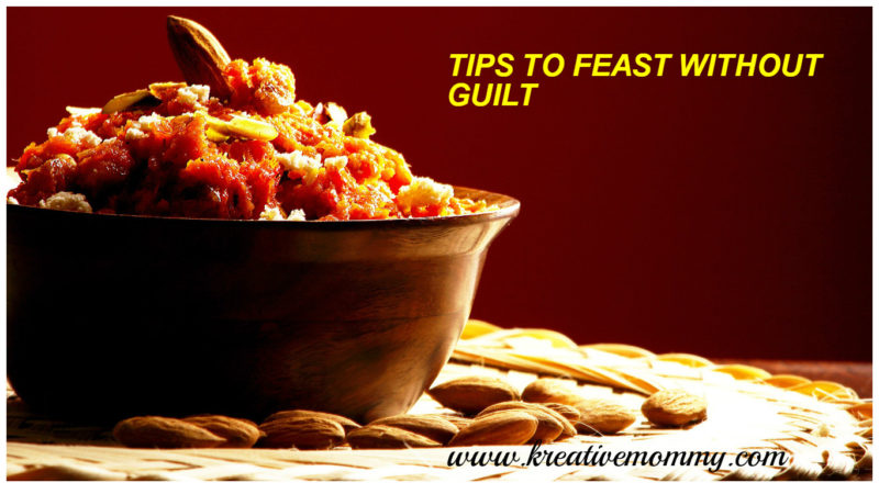 feast without guilt on Diwali