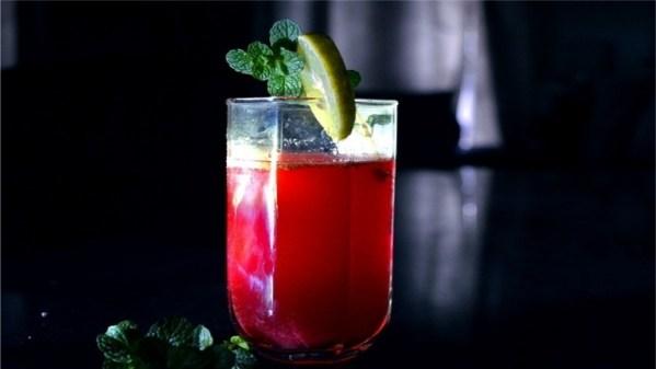 Lemon cranberry