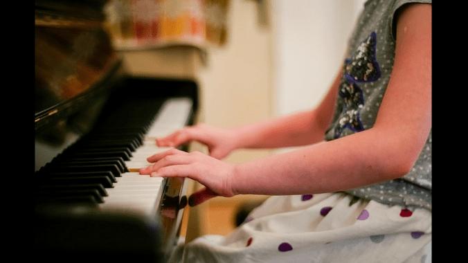music helps children
