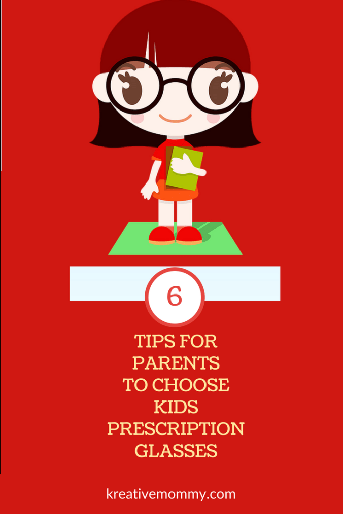Choose kids prescription glasses