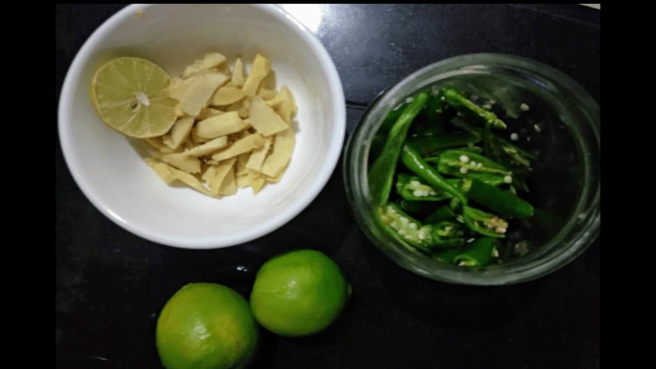 Instant pickle recipe