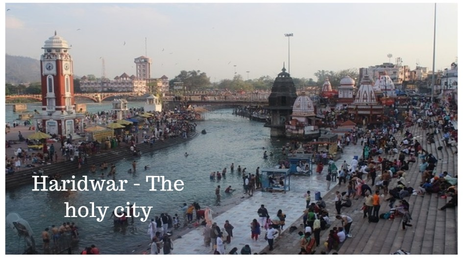 The holy city of Haridwar