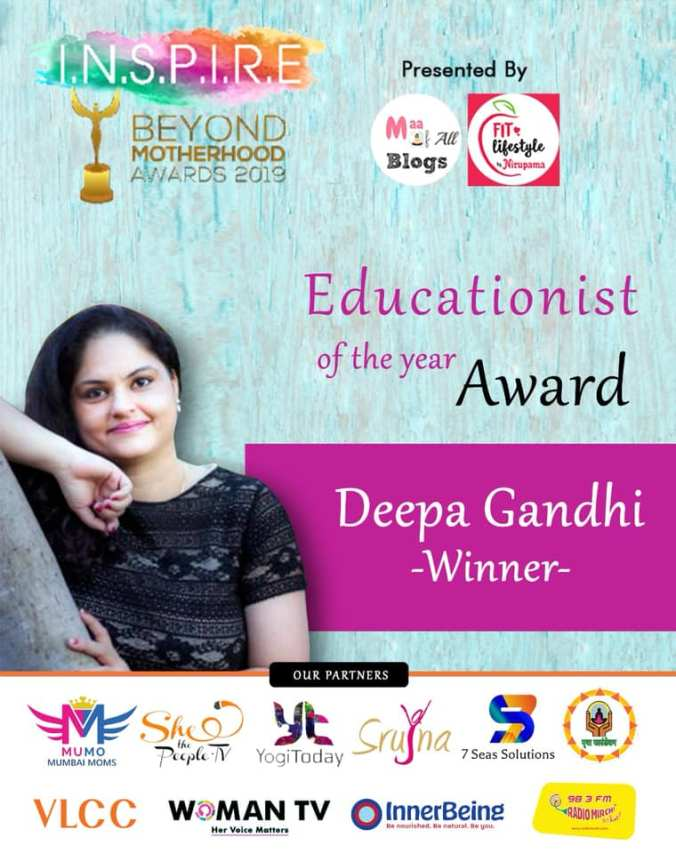 Inspire beyond motherhood awards