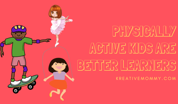 Active kids are better learners