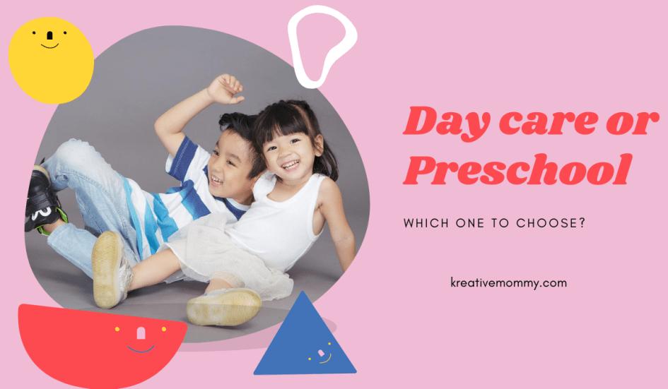 daycare or preschool