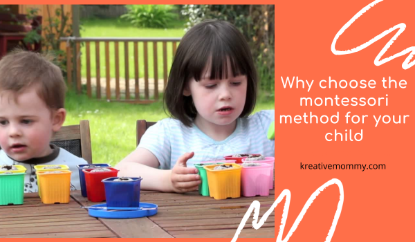 Why choose the montessori method for your child