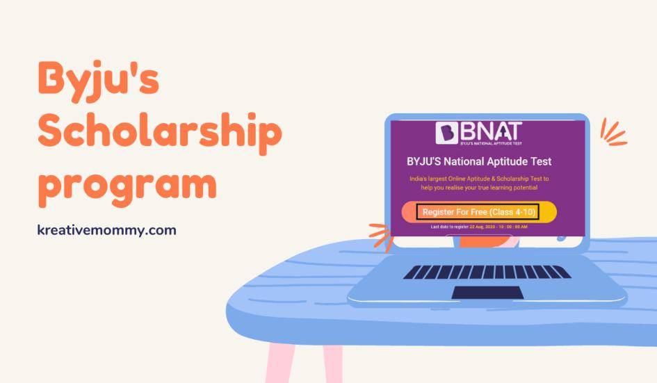Byju's Scholarship programm