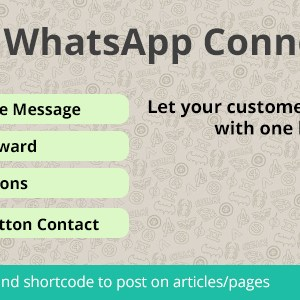 WhatsApp Connect | Let customers contact through WhatsApp