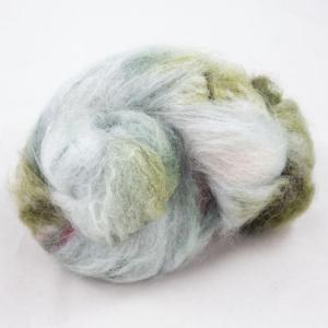 Cowgirl Blues Fluffy mohair