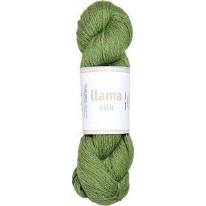 Llama silk uld-silke garn