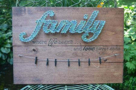Family by Little String and Thing on Etsy