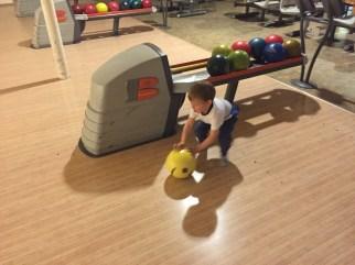 Na bowlingu