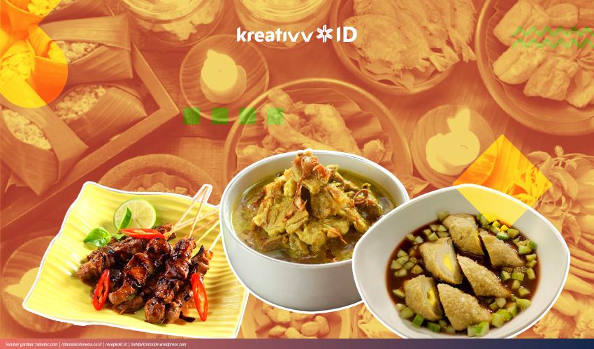 10 Makanan Khas Indonesia Yang Populer Kreativv Id