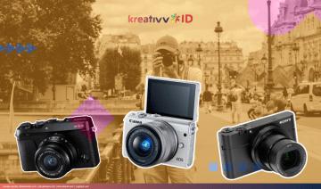 6 Kamera Digital yang Cocok Dibawa Travelling