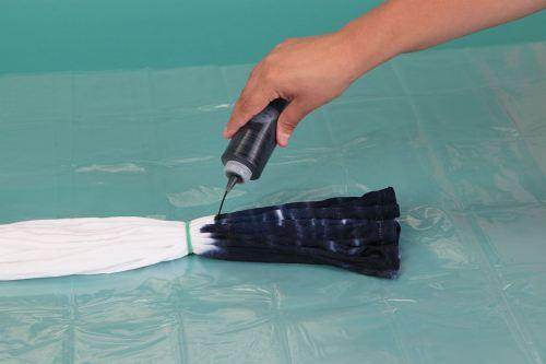 cara membuat tie dye 8