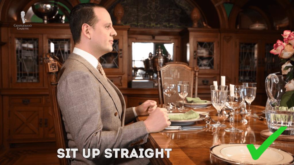 table manner dua 1