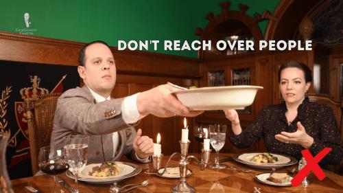 table manner dua 3