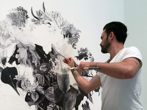 cara melukis dinding 5