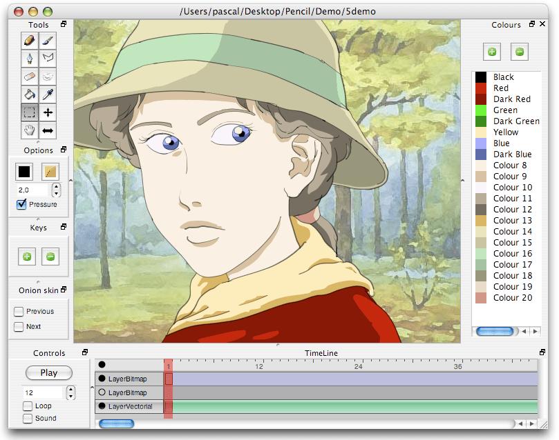 software pembuat animasi 2
