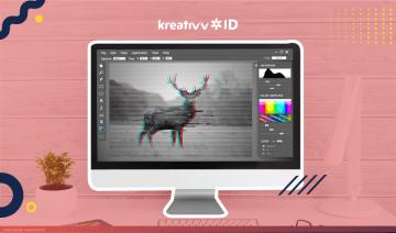 Mau Desainmu Unik? Nih, Cara Membuat Efek Glitch di Adobe Photoshop