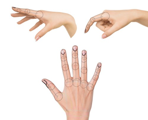 cara menggambar tangan 2
